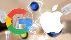 باج گوگل به اپل