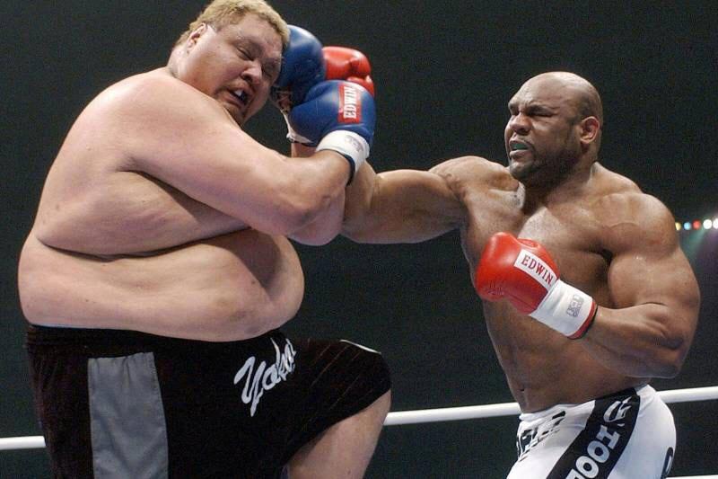 سنگین وزن ترین UFC کاران