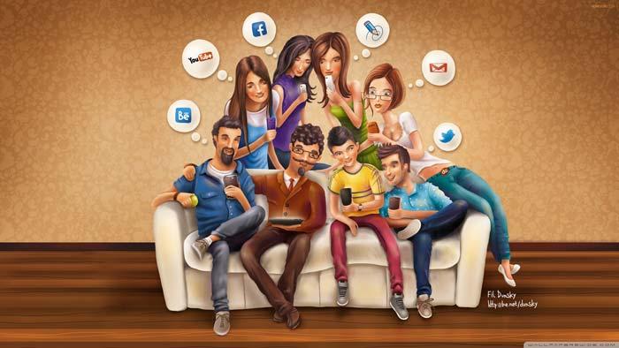 شبکه های اجتماعی در جهان