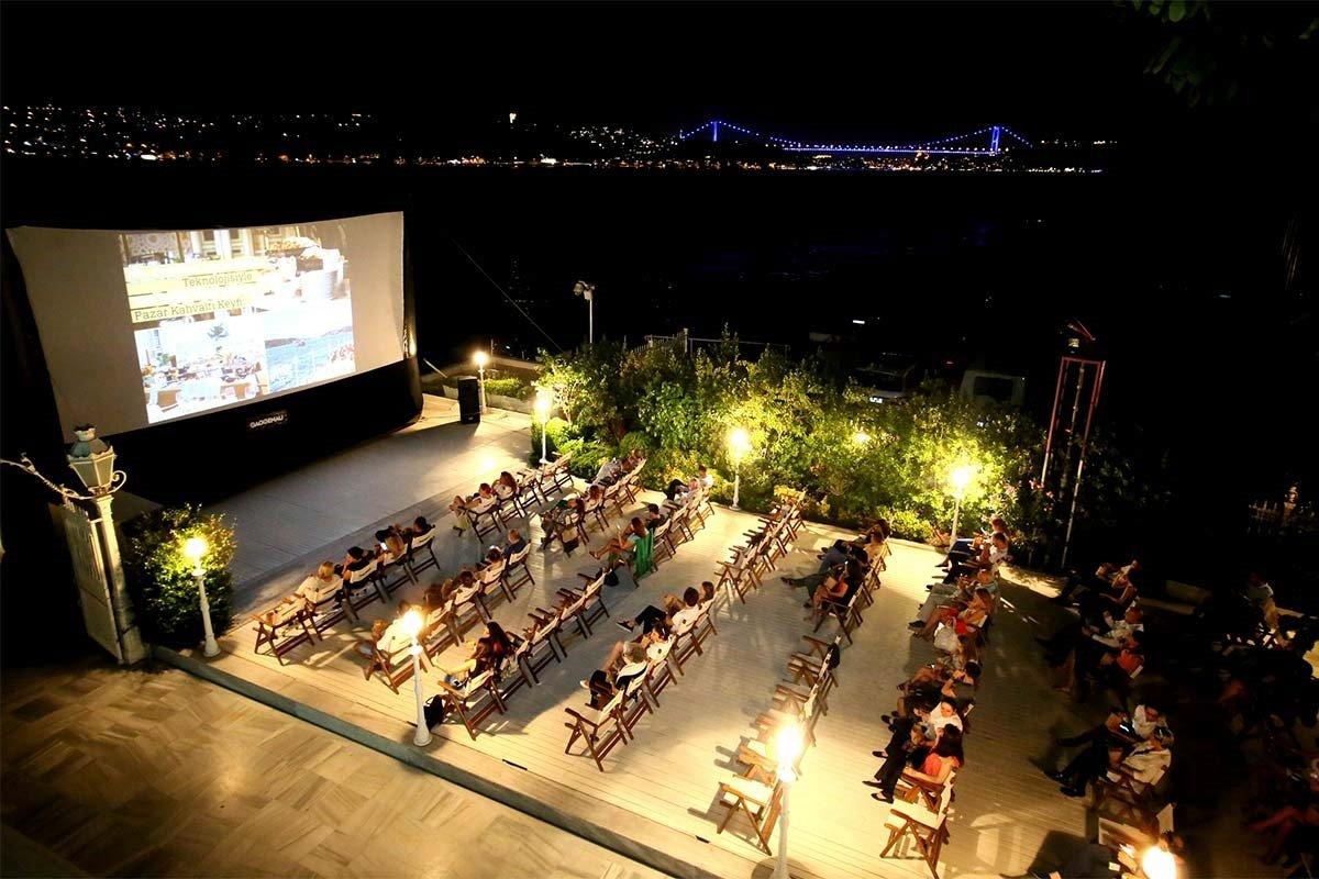 سینما های روباز استانبول